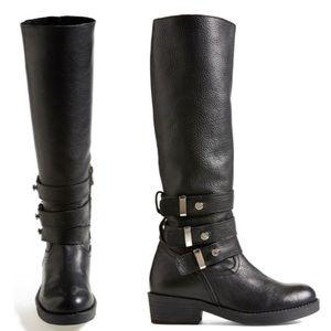 STEVE MADDEN✨Nanett Nelted Knee High Boots sz 9.5